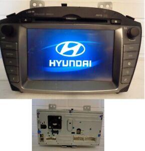 Original Hyundai ix35 Navigationsgerät Navigation Radio Bluetooth - LAN3100EHLM