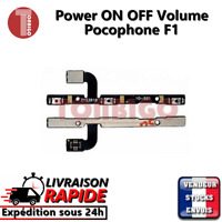 Nappe bouton ON OFF XIAOMI POCOPHONE F1 power button volume up down flex cable