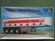 modellbausätze 1:24 truck lkw Italeri Jumbo Tank Trailer