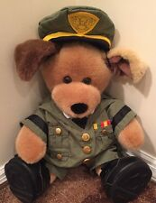 "Build A Bear Army Soldier 16"" Hat Boots Outfit"