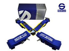 "Sparco Racing Harness - 4 Point Quick Release - FIA APPROVED 2022 - 3"" - JDM"