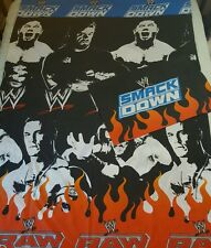 WWE Smackdown Vs Raw Single Duvet Cover Rare Material