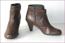 HISPANITAS Bottines Boots Cuir Marron T 37 TBE