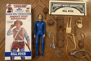 Marx Johnny West Adventure JWA Bill Buck Cavalry Scout Box