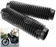 2Pcs 30mm Universal Motorcycle Rubber Front Fork Cover Gaiters Gators Boots