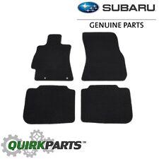 2010-2014 Subaru Legacy & Outback Carpeted Floor Mats Black OEM NEW J501SAJ100