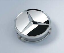 Genuine Mercedes-Benz Set of X4 Silver Chrome Alloy Wheel Hub Cap / Centre Caps