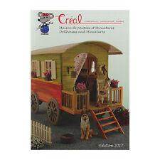 Creal 99980 Katalog für Puppenhauszubehör und Miniaturen 2017 NEU!#
