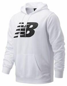 New Balance Men's Core Fleece Hoodie White