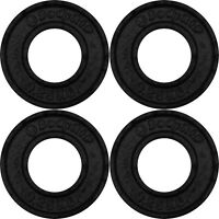 """BodyRip Olympic Cast Iron Fraction Weight Plates 4 x 0.25KG 2"""" Hole Low Weights"""