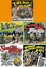 "5 LP LOT R. Crumb Cover ""CHIMPIN' THE BLUES"" ""EAST RIVER STRING BAND"" $125 VALUE"