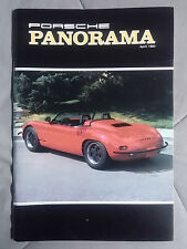 1984 APRIL PORSCHE PANORAMA MAGAZINE CARRERA 911 928 944 924 356 TURBO