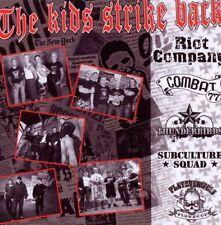 V/A THE KIDS STRIKE BACK (CD) Various Artists NEU Oi Punk Skinhead combat 77
