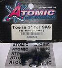 Atomic AWD131 Toe in 3* For SAS FoR MINI-Z (AWD)