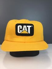 Vintage Caterpillar Snapback Hat Made In USA