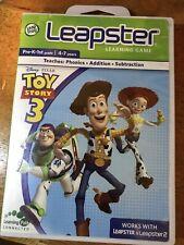 LeapFrog Leapster Explorer LeapPad TOY STORY 3 Game CIB Disney Pixar