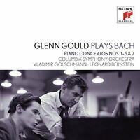 Glenn Gould - Glenn Gould Plays Bach: Piano Concertos Nos. 1 - 5 Bwv [CD]