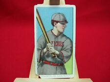 1909-11 T206 TOBACCO BASEBALL CARD HULSWITT, ST LOUIS NATIONALS PIEDMONT ON BACK