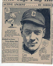1940 newspaper feature Active Ancients by Sords - Charles Root Chicago Cub