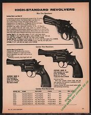 1976 HIGH STANDARD Sentinel Mark I, II, III Rim-Fire, Center-Fire Revolver AD