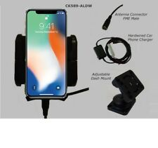 iPhone X car cradle inc external antenna connection -Smoothtalker X car kit