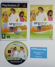 Singstar Pop, Sony Playstation 2, Pal-Esp