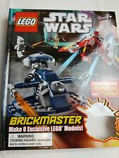 LEGO STAR WARS BRICKMASTER BOOK FAST FREE SHIPMENT