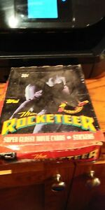 2 boxes The Rocketeer Movie Cards