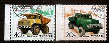 AUTO KOREA 1988. SC 2780-2781. DUMP TRUCKS. JAJU 82 10-T TRUCK/KUMSUSAN 40 USED