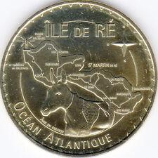 17 SAINT MARTIN DE RÉ ÂNE MÉDAILLE MONNAIE DE PARIS 2014 JETON TOKEN MEDALS COIN