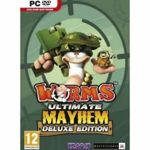 Worms Ultimate Mayhem Deluxe Edition  destructive turn-based cartoon action  NEW