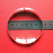 75mm Durchmesser Optisches Glas Brennweite 200 Optik Doppelte konvexe Linse 2PC