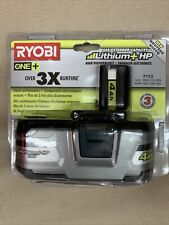 Ryobi 18-Volt One+ Lithium-Ion 4.0 Ah Lithium+ Hp High Capacity Battery