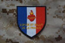 écusson patch insigne Sacré Coeur de Jésus ESF Espoir et Salut de la France KTO