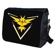 TEAM INSTINCT POKEMON GO School College Personalised Messenger Bag