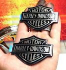 Genuine Harley Dyna Sportster Softail Street Touring Fuel Tank  Emblems Badges