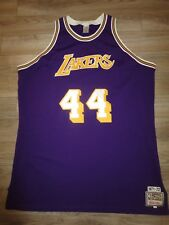 Jerry West #44 Los Angeles Lakers NBA Finals 1971 Jersey 56