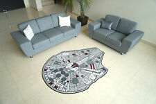 New Official Disney Star Wars Millenium Falcon Character Area Carpet Rug Force