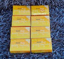 New Improved Royale Beauty KOJIC PAPAYA SOAP with Orange Scent Multibuy 8 Bars!!