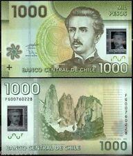 CHILE Billet 1000 PESOS 2009 POLYMER NOUVEAU NEW NEUF UNC