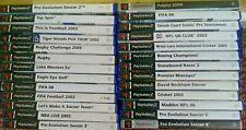 x26 Games Bundle // PS2 // PlayStation 2 // Sports Genre #2