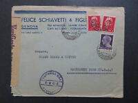 Italy 1945 Censor Cover to USA - Z8490