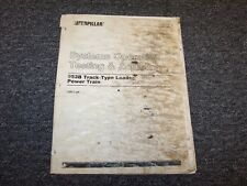 CAT Caterpillar 953B Loader Power Train Operation Testing Service Repair Manual