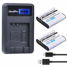 DuraPro 2Pcs LI-90B Battery +Kastar LCD Stylus USB Charger Li Olympus Tough