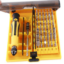 45 in 1 Precision Torx Screw Driver Set Repair Tweezers Phone Laptop Tools Kit S
