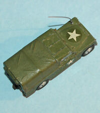 "CORGI TOYS 1964 Great Britain 109"" W. B. LAND ROVER U.S. ARMY STAFF CAR #357"