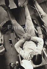 1936 Vintage Germany OLYMPIC FENCING Male Fencer Rest Photo Art 11x14 PAUL WOLFF