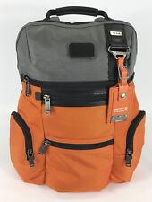 Tumi Alpha Bravo Knox Style Business Laptop Backpack Orange Gray 22681GOH