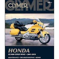 New listing Clymer Maintenance Troubleshooting Service Repair Manual Honda Gold Wing Gl1800
