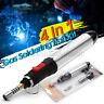 4in1 Gas Blow Torch Soldering Solder Iron Gun Butane Cordless Welding Pen